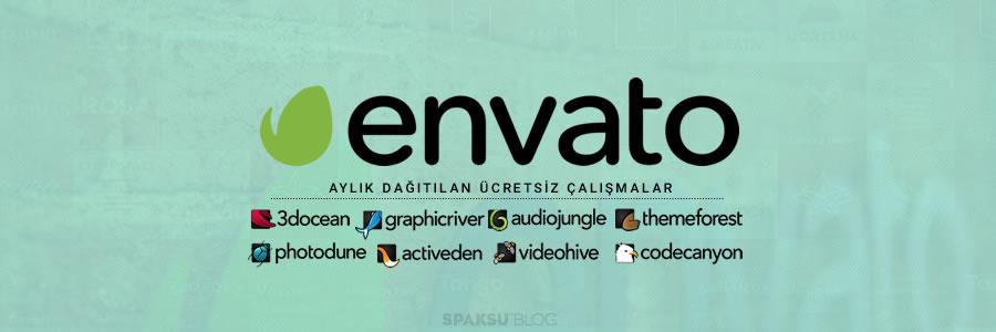 Envato sitelerinin ücretsiz çalışmaları: Mart 2015