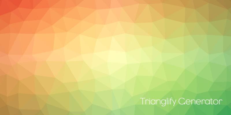 Trianglify Generator Renk Geçişli üçgen Arkaplan Oluşturucu